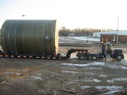 B and K Trucking Fiberglass Tanks